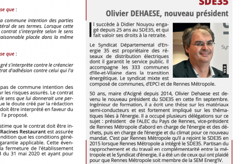 Article Olivier Dehaese