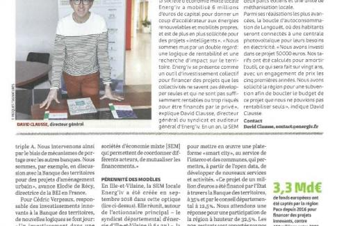 Article Energ'iV